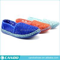 most fashion and wholesale 2016 fancy hollow espadrilles
