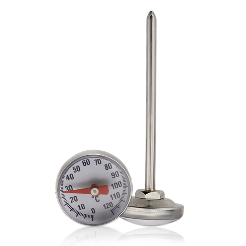 Safe Stainless Steel Sensor Cooking Milk Food Coffee Thermometer with Large Dial Fast Reading