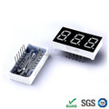 Top quality 0.80 inch led seven segment display circuit 3 digits multi color 7 segment display from led display company