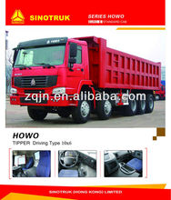 China Automobile Van SINOTRUK HOWO 10x6 Dump Truck
