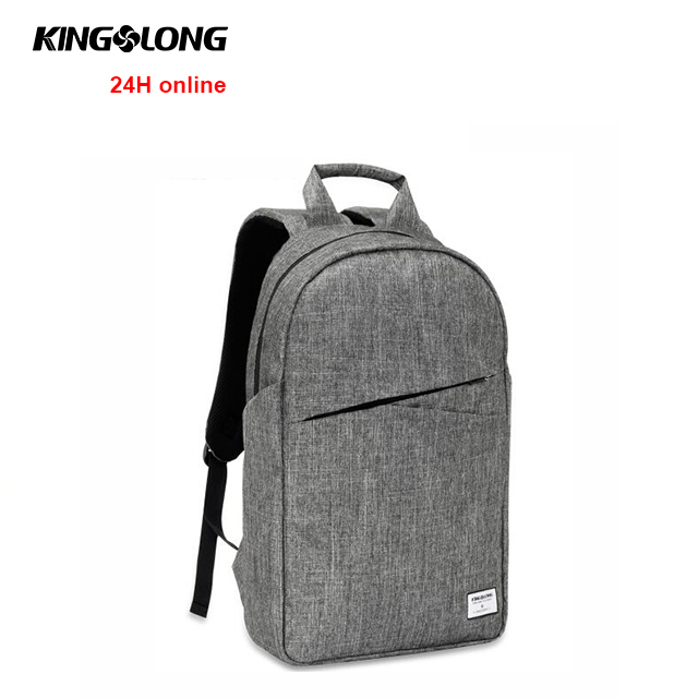 KINGSLONG American anti theft bag 3 compartment <strong>17</strong> inch nylon laptop backpack
