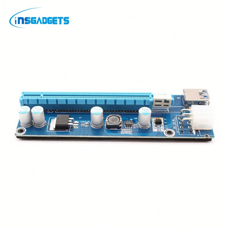 Pcie to serial card sNdh0t pci-e riser card extender ribbon cable for sale