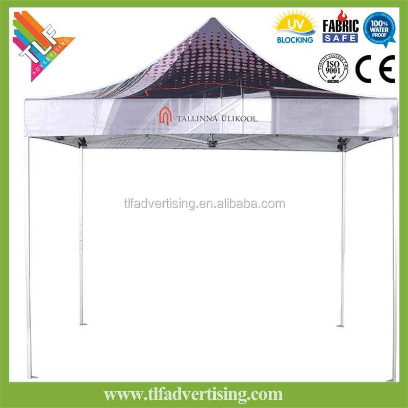 Professional trade show Aluminum folding tent, gazebo, pop/easy up tent, canopy, marquee for advertising