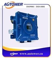 Industrial overflow protector and static detection device with alarm function used in oil tank chemical warehouse area