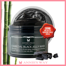 Blackhead Remover Bamboo Charcoal Powder Face Mask