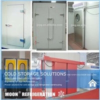 Moon cold room door assemble door lock/door hinges