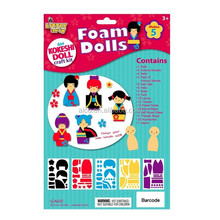Japan Kokeshi doll making kids foam craft kits