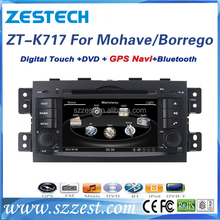 ZESTECH double din for Kia Borrego DVD Player GPS Navigation, for Kia Borrego Radio DVD