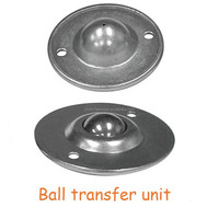 Ball transfer unit / flange disk type ball transfer unit ball bearing