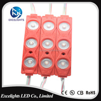 China Supplier CE RoHS approval 5050 5730 2835 SMD ABS Injection display led module with lens