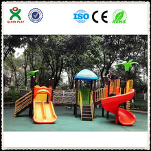 Childrens swings,backyard wooden playsets,baby outdoor toys QX-050A