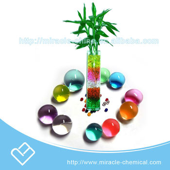 Colorful crystal Water Beeds for flowers and indoor plants,aromatic