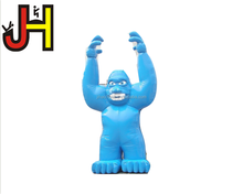 Giant inflatable blue gorilla inflatable gorilla for sale large inflatable animal