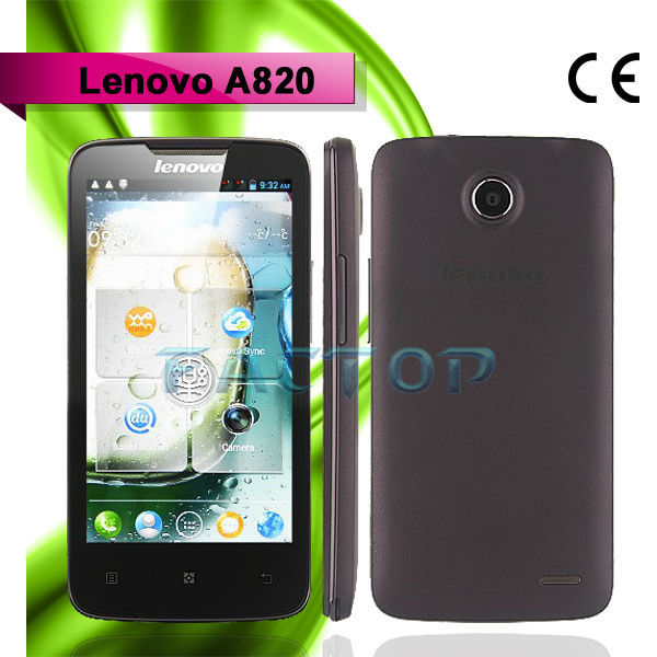 lenovo a820 dual sim card 4.5 inch UK quad core mobile phone with tv out function