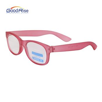 Pink Frame Plastic Eyeglasses Optical Reading Glasses Attractive Price