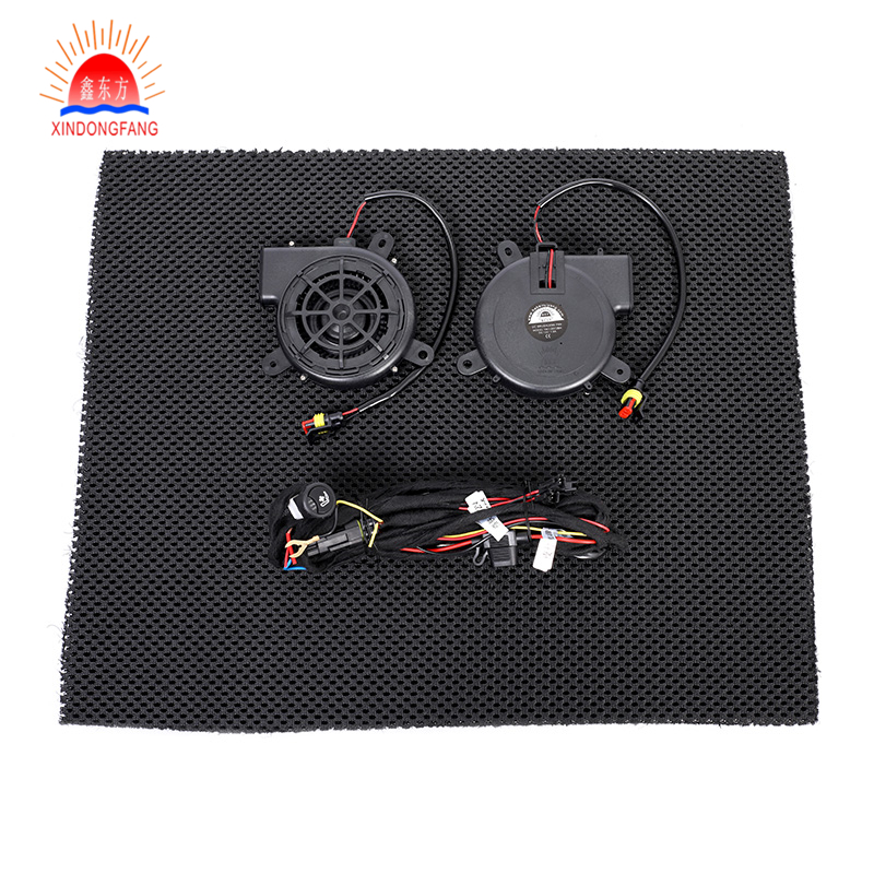 high efficiency ventilated car seat cushion with cooler fan