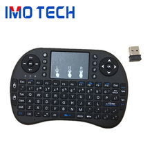 2017 I8 2.4g Wireless Mini Keyboard, 92 Keys Gaming Keyboard, I8 Air Mouse Touchpad remote control