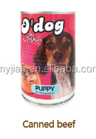 canned beef FOR dog AND PET food