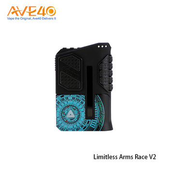 Best Selling Products Limitless Arms Race 220W V2 Vape Box Mod With Cheap Price