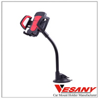 vesany 2016 high quality colorful rubber 360 degree rotation functional cell phone mount holder