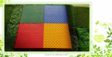 Outdoor PP Suspended Interlocking Sports Basketball Flooring