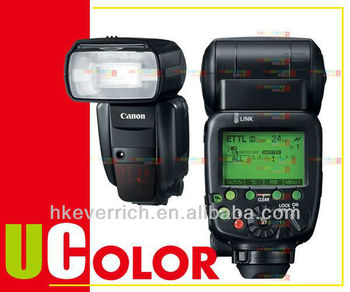 CANON SPEEDLITE 600EX-RT 600EXRT FLASH FOR EOS 7D 5D MK III 6D 650D 600D 550D