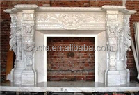 Modern style Fireplace, Popular sculptured Fireplace Made in China