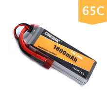 FPV RC Lipo Battery 1800mAh 11.1V 3S 65C Max 130C for Racing Quadcopters IRC Vortex 250 Pro & 285