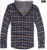 Mens Sherpa Lined Plaid Flannel Shirts/ Jacket, Hoodied Sherpa Lined Shirts