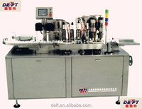 Aerosol drug filling and sealing machine