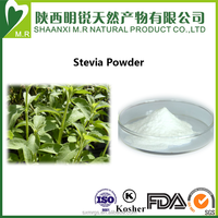 High quality Best price GMP OEM factory organic stevia extract powder, Stevioside 95% bulk pure stevia extract