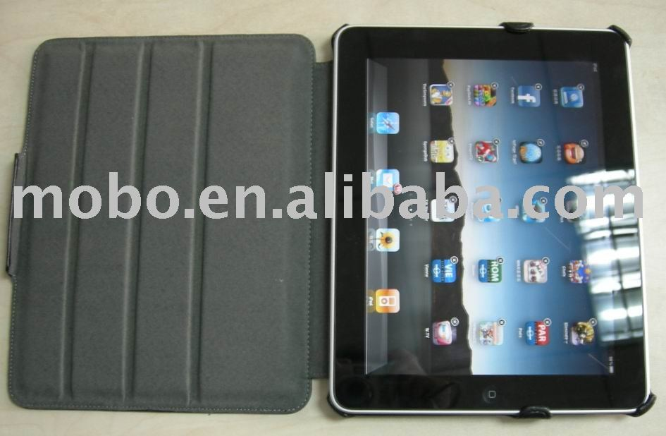 Case for iPad 2, PU case for iPad 2, Housing for iPad 2