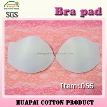 056 China export sweat absorbent bra pad for swimwear