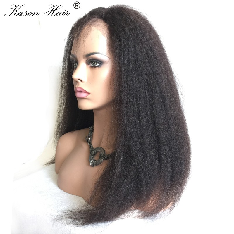 2016 World Best Selling Brazilian Kinky Straight Human Hair Braided Wigs For Black Men Women