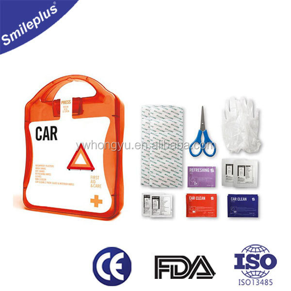 Car/Home/Travel/Office Mini Emergency First Aid Kit Bag