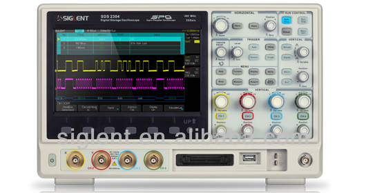 Siglent SDS2304,DPO Oscilloscope,digital oscilloscope,300MHz,4 channels