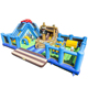 Inflatable Sealife Playground Moonwalk/ inflatable fun city/ inflatable play center