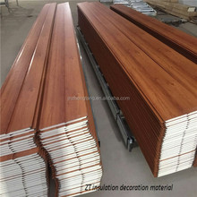 fire - resistant hard pu foam insulated decoration WOOD SIDING