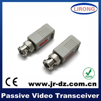2014 new 1 channel passive utp video balun for CCTV with RoHS approved