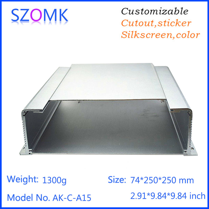 High Quality Anodized Aluminum Extrusion Enclosure For Electronic