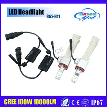 new arrival cheap 80w 12v cob Crees car Fanless led headlight bulbs h11 H7 H4 9005 9006 for jeep, motorcycle