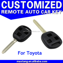 Remote Blank Shell 3 Button Key Case Keyless Fob for Toyota Corolla RAV4 Camry Prius Land Cruiser Yaris