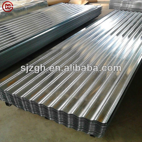 Corrugated Galvalume roofing sheet/Alu-zinc corrugated roofing sheets