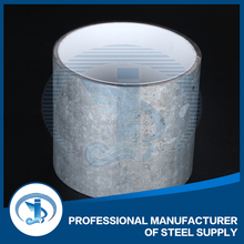 DN32 hot rolled zinc coating drinking water supply line model steel tube PVC coated steel pipe