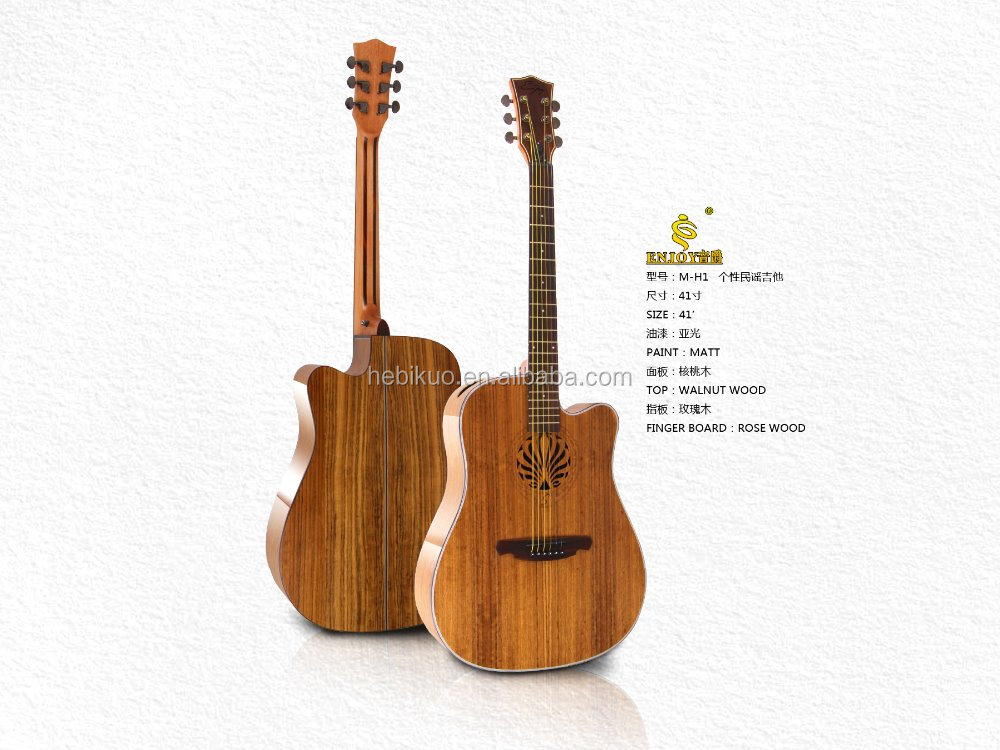 41'' M-H1 Enjoy Acoustic Guitar Unique design Guitar