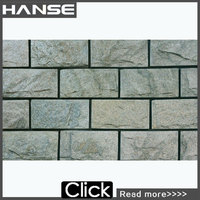 HS-MC10 decorative high quality artificial natural culture slate stone for wall