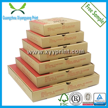 Custom Hand-Made Recycle E- Flute corrugated Paper Pizza Box manufacturer, cheap price carton pizza delivery box for scooter