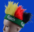 Factory direct sell cheap headband hair wig for world cup football game