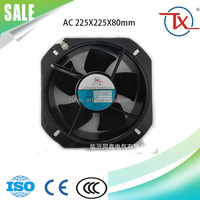 225mm dc 24v temperature controlled exhaust fan