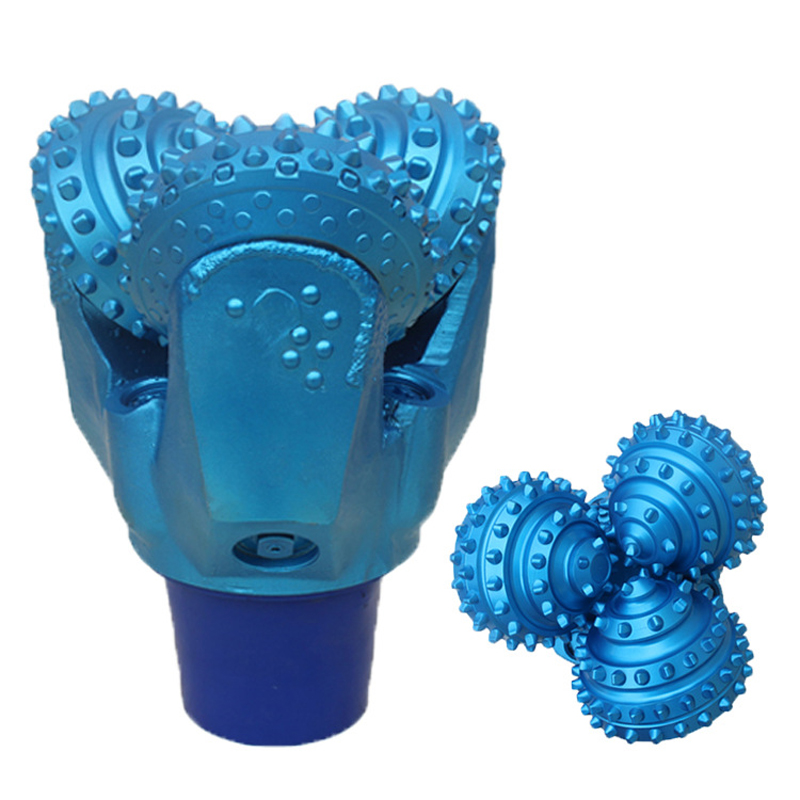 Durable carbide drill bit for gas water well